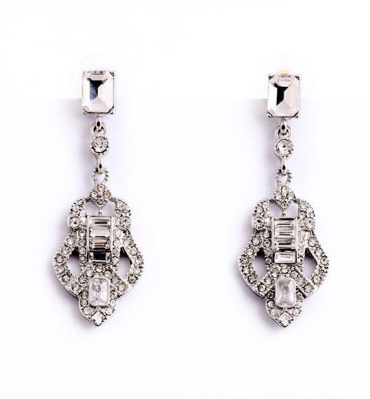 Last True Angel Elegant Vintage Drop Earrings