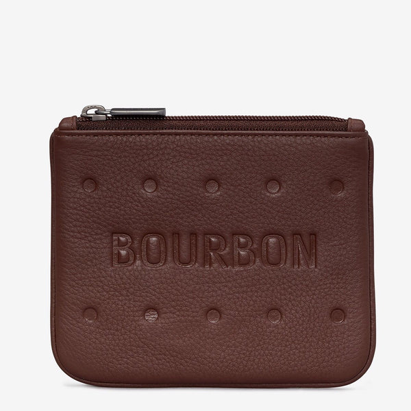 Yoshi Bourbon Biscuit Leather Purse