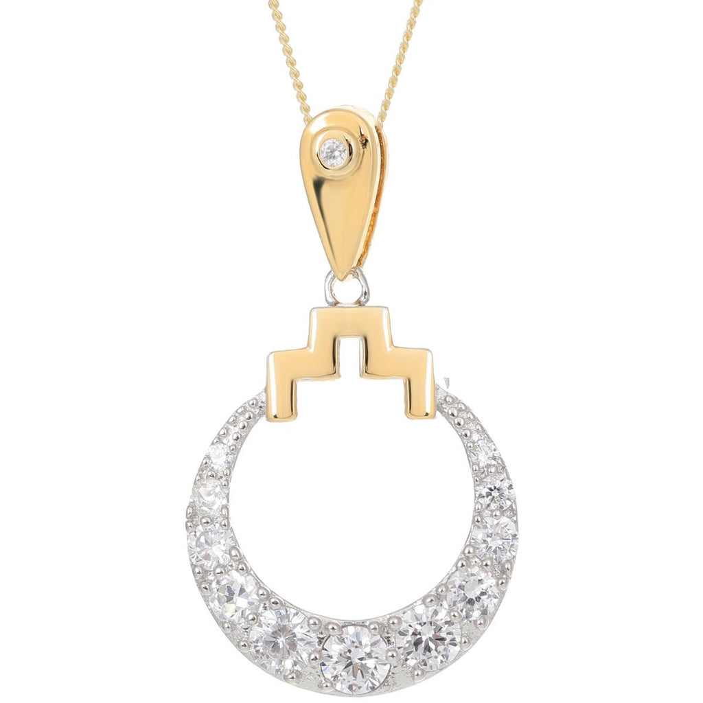 V Jewellery Bianca Pendant Ft. Gold