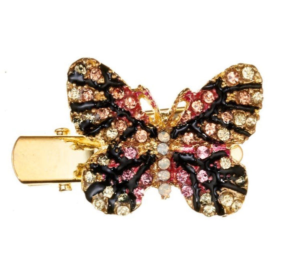 Rosie Fox Pastel Butterfly Mini Brooch and Hairslide
