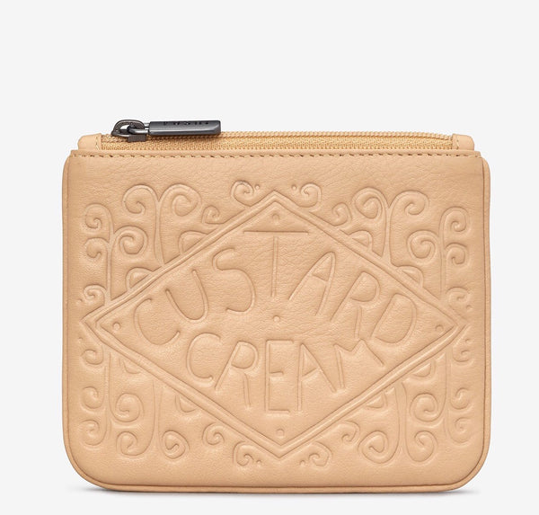 Yoshi Custard Cream Biscuit Leather Purse