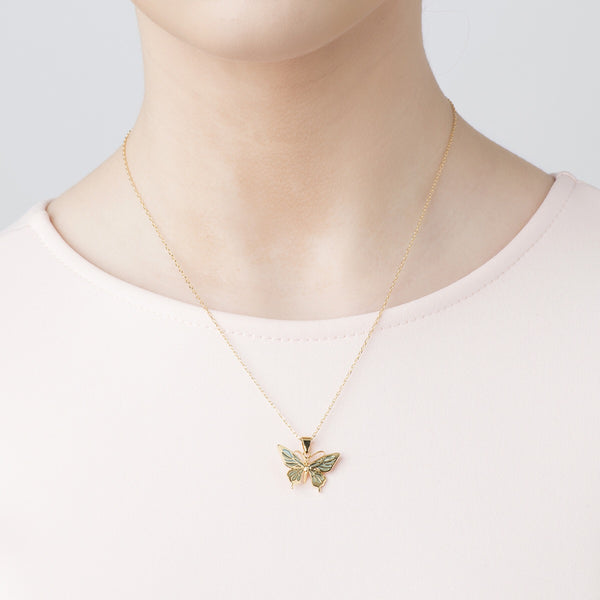 Bill Skinner Butterfly Mini Pendant