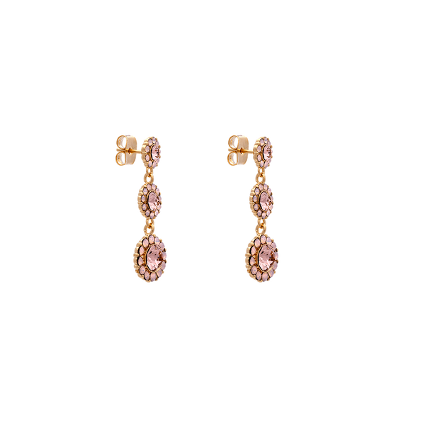 Lily & Rose Petite Sienna Earrings in Vintage Rose Opal