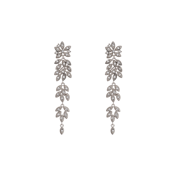 Lily & Rose Petite Laurel Earrings in Crystal
