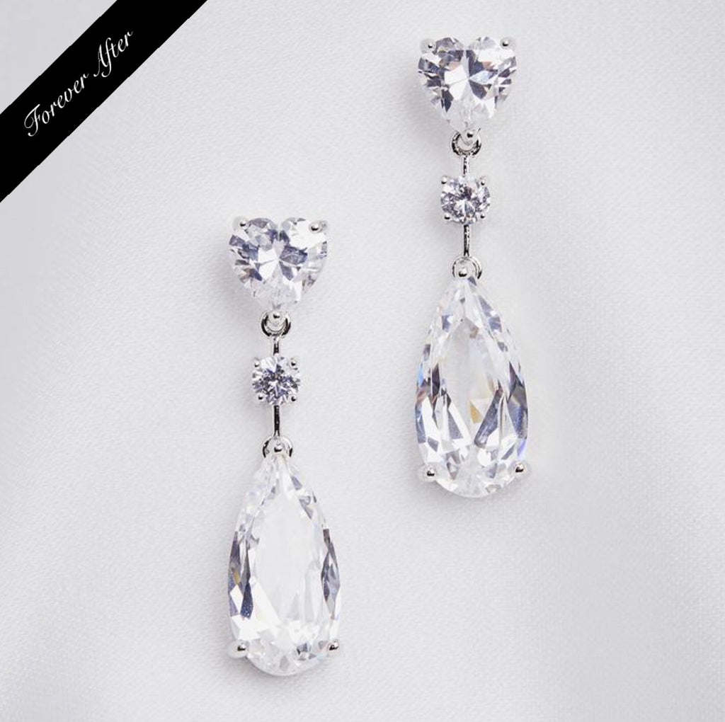 Lovett & Co Teardrop Crystal Earring