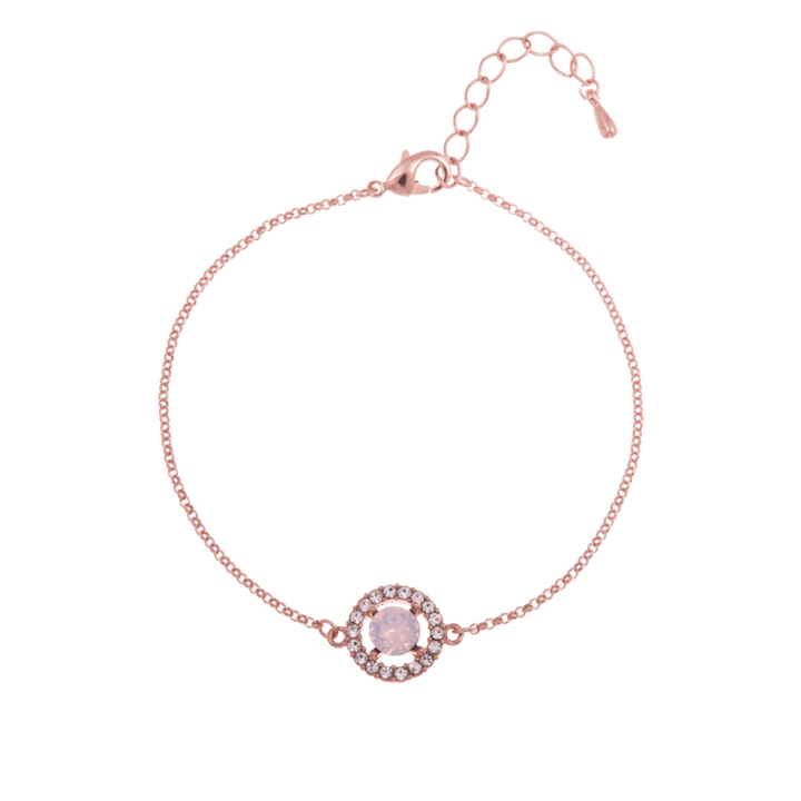 Lily and Rose Miss Miranda Bracelet in Rosewater Opal