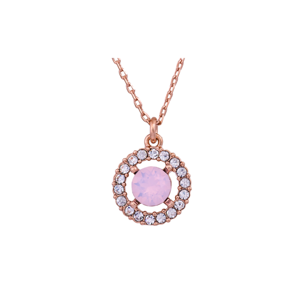 Lily and Rose Miss Miranda Necklace in Rose Water Opal