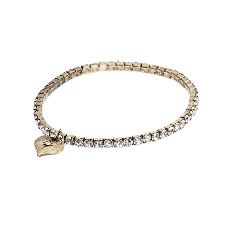 Lovett & Co Crystal Stretch Bracelet - Jewella accessories