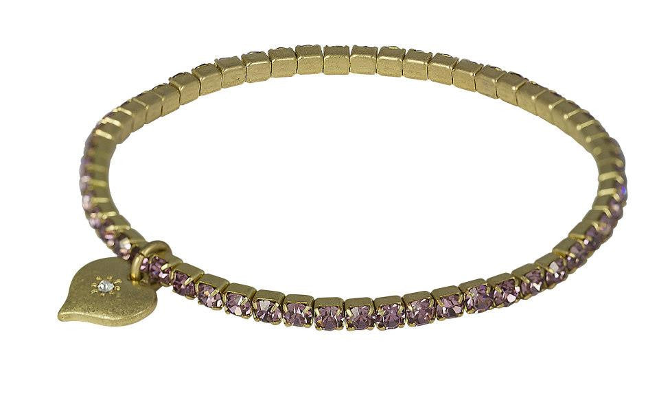 Lovett & Co Light Amethyst Bracelet - Jewella accessories
