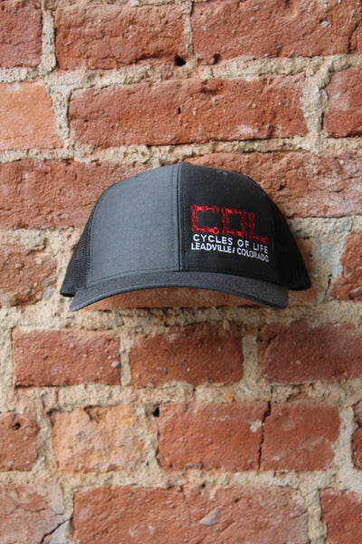 Cycles Of Life Snap Back Trucker  NEW!