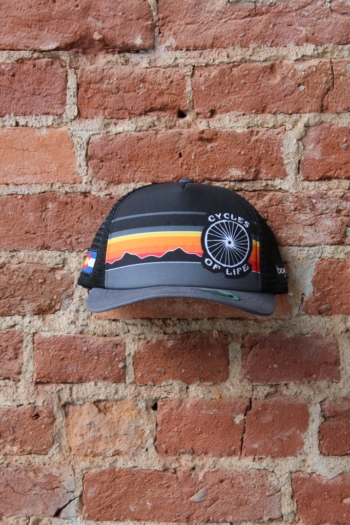 Cycles of Life Boco Mountain Trucker Hat