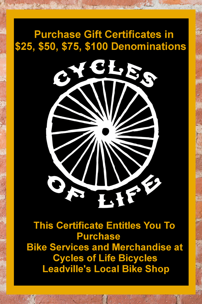 Cycles of Life Gift Card