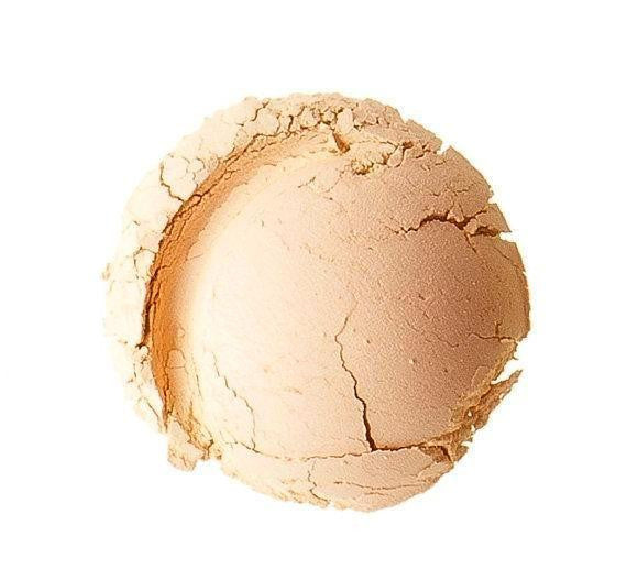Natural Mineral Foundation English Rose For Pale Skin With Pink Undertones SPF15