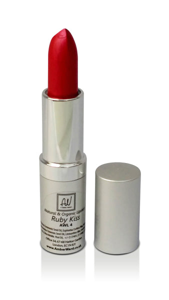 Natural Organic Red Lipstick For Pale Skin