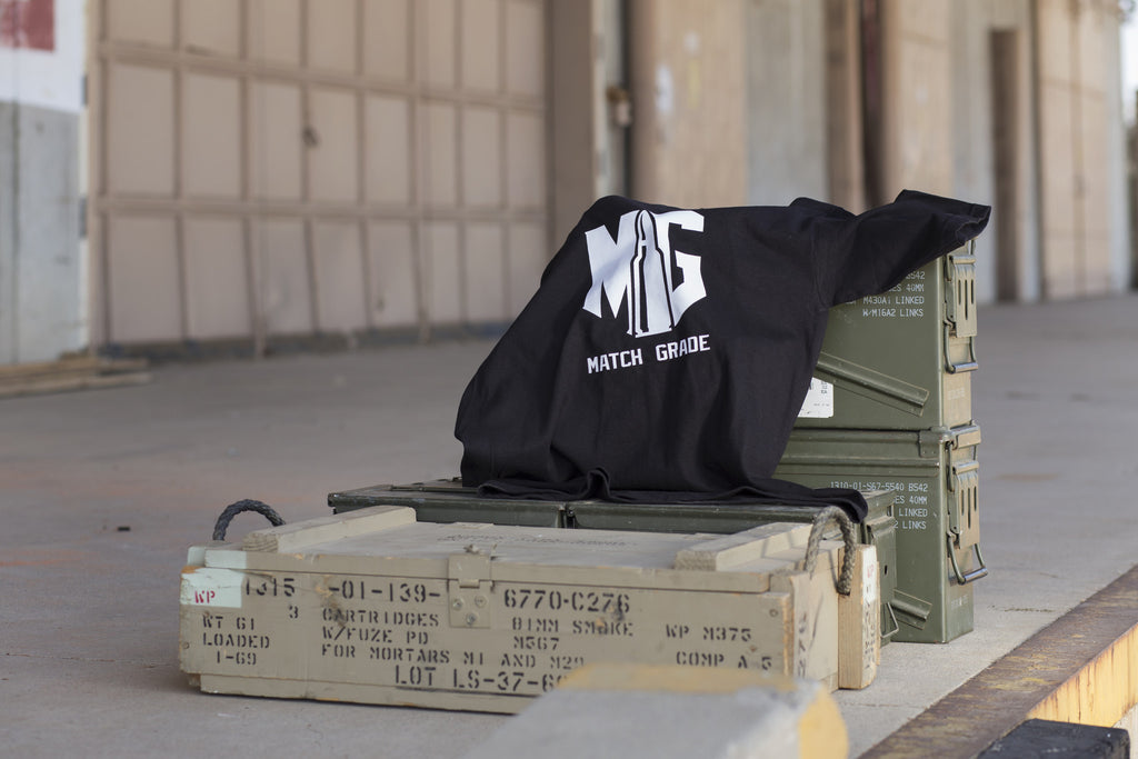 Match Grade Apparel Launches US-Made, Military-Themed Line That Gives Back