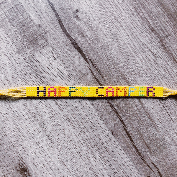 Beaded Camp Bracelet - Tie On