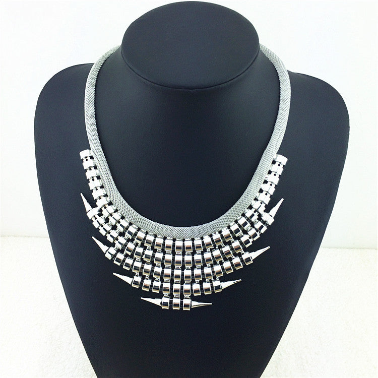 Fashion Jewelry Pendants Multi-layer Punk Style Statement Necklace