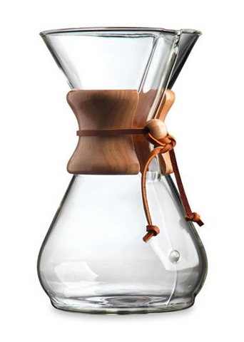 Brew with CHEMEX® Coffeemaker