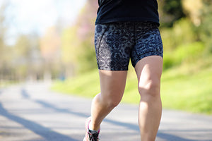 Women's running shorts that don't ride up