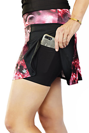 trail running skirt astral with side pockets