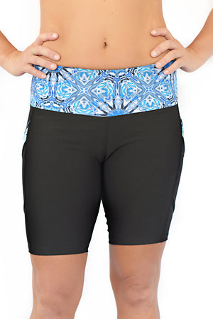 blyss running shorts for women