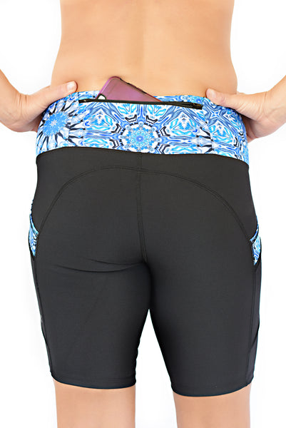 compression running shorts for women