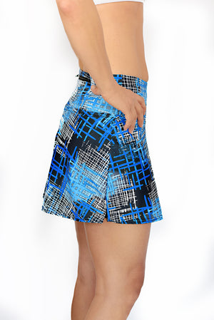 Longer chafe free running skirt with pockets