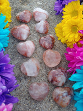 Load image into Gallery viewer, Fire Quartz Hearts