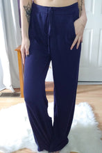 Load image into Gallery viewer, Navy Drawstring Pants (S-XL)