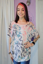 Load image into Gallery viewer, Pink One Shoulder Leopard Top (S-XL)