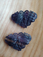 Load image into Gallery viewer, Fluorite Butterfly Carving