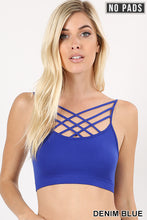 Load image into Gallery viewer, Criss Cross Bralette in 6 colors  (S-XL)