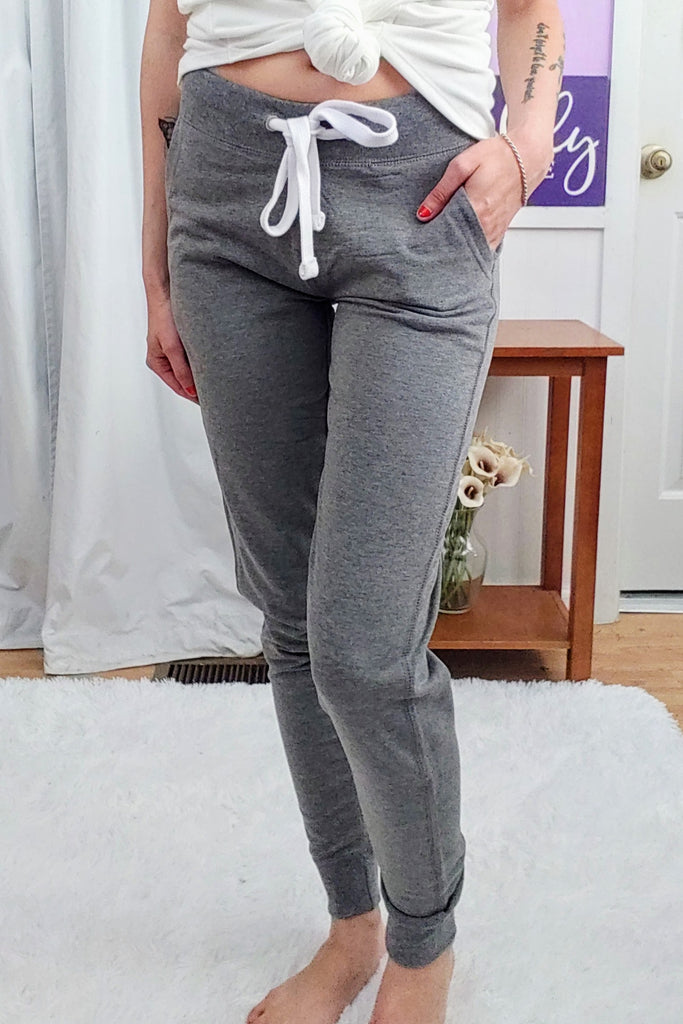 Just Right Joggers In Heather Grey (S-XL)
