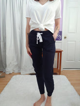 Load image into Gallery viewer, Just Right Joggers In Navy (S-XL)