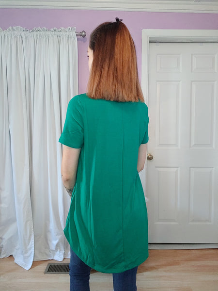 Comfy Tee Kelly Green (S-XL)