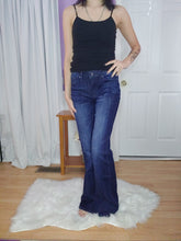 Load image into Gallery viewer, Lisa Bootcut Dark Whiskered Kan Can Jeans (3-15)