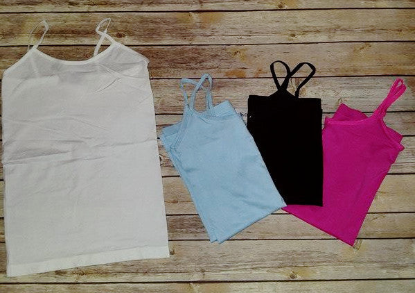 Back to Basics Cami (4 colors)