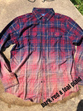 Load image into Gallery viewer, Bleached Flannels (S-2X) Various Colors