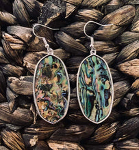 Load image into Gallery viewer, Silver Stone Earrings