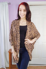 Load image into Gallery viewer, Leopard Cocoon Cardigan (S-XL)