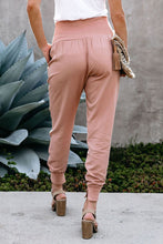 Load image into Gallery viewer, Pink Wide Band Waist Jogger (S-XL)