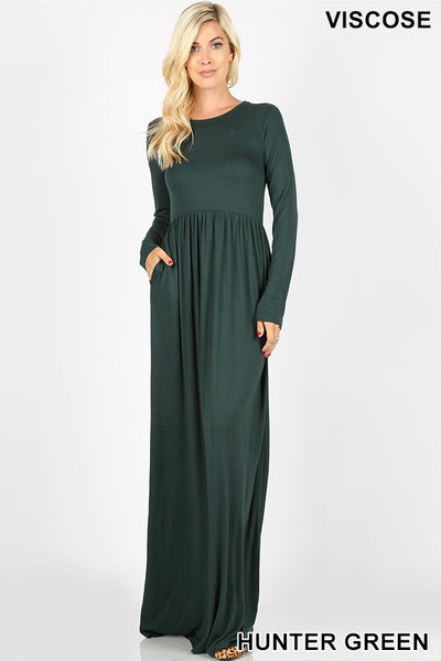 Haley Hunter Maxi Dress (S-3X)