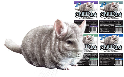 ChillDust: Premium Bathing Dust for Chinchillas and Degus
