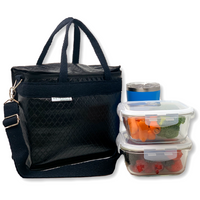 New Insulated Lunch Bag Koki Black