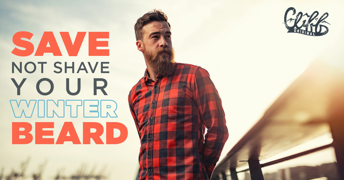 save not shave your winter beard