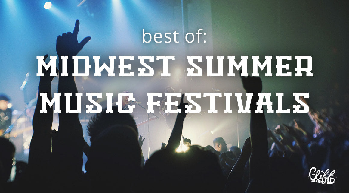 best midwest summer music festivals