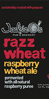 Jackie O's Razz Wheat - best summer beer