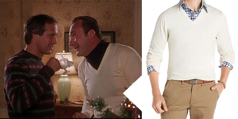 Holiday Movie Sweater - V-neck