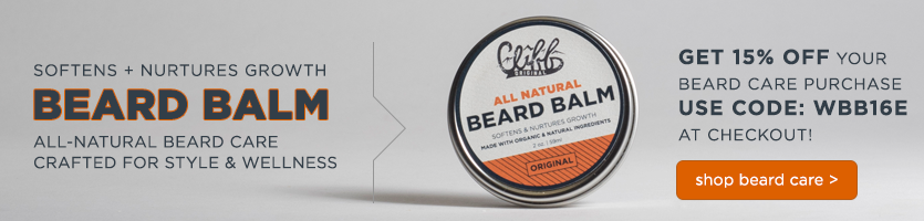Get 15% off your beard care purchase