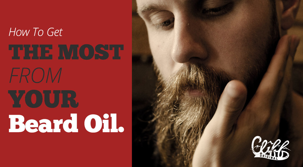 why use beard oil - when to apply beard oil